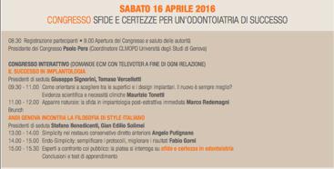 16 aprile - Congresso - ANDI - Genova